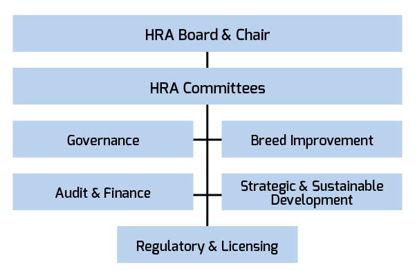HRA Committee Org Chart