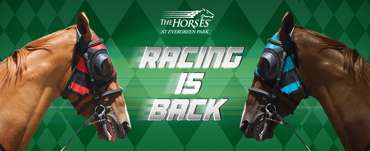 Racing is Back at Evergreen Park