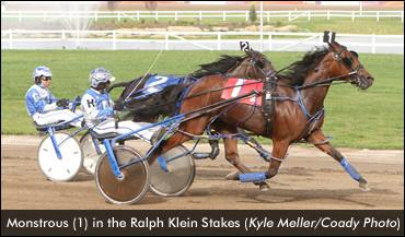 Monstrous in the Ralph Klein Stakes