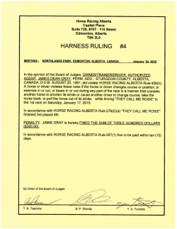 Ruling H004-2015