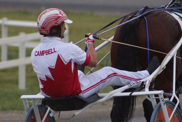 Brandon Campbell will be representing Canada in the WDC at Century Downs Casino and Racetrack