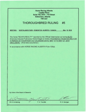 Ruling T005-2018