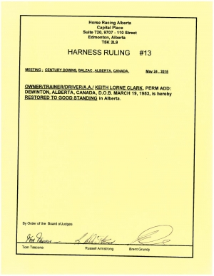 Ruling H013-2015