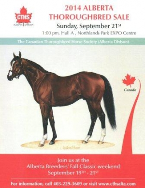 CTHS Alberta Thoroughbred Sale