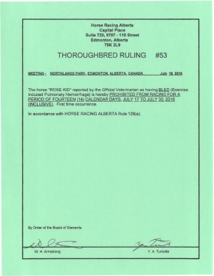 Ruling T053-2016