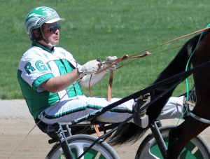 Ryan Grundy in the bike at Century Downs