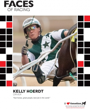 Kelly Hoerdt's Faces of Racing Poster