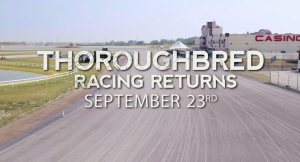 Thoroughbreds return to Calgary (video)