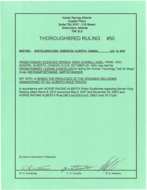 Ruling T050-2016