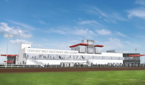 Rendering of the Century Mile facility near Redtail Landing and the Edmonton International Airport