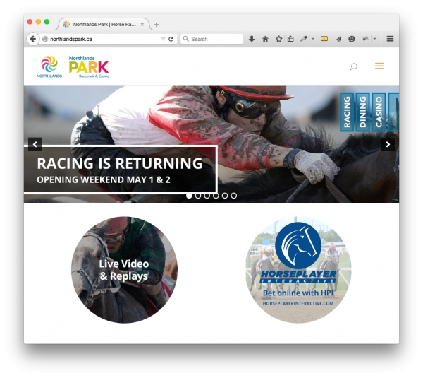 Racing returns at Northlands Park