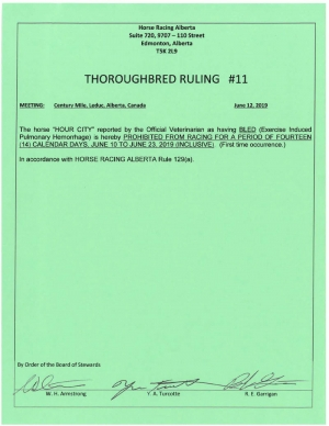 Ruling T011-2019