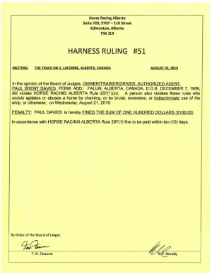 Ruling H051-2019