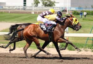 Trooper John winning the Ky Alta at Northlands Park