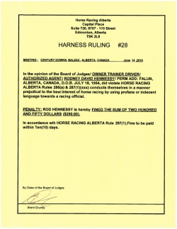 Ruling H028-2015