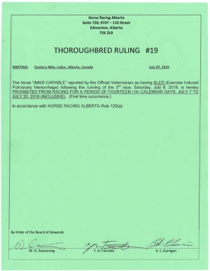Ruling T019-2019