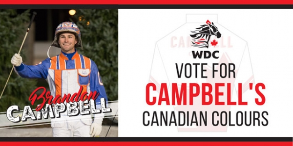 Vote For Brandon Campbell's Canadian Driving Colours!
