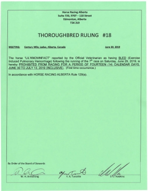 Ruling T018-2019