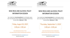 New Drug and Alcohol Policy Information Sessions