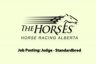 Job Posting: Judge-Standardbred