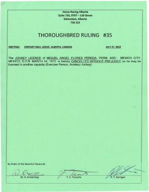 Ruling T035-2019