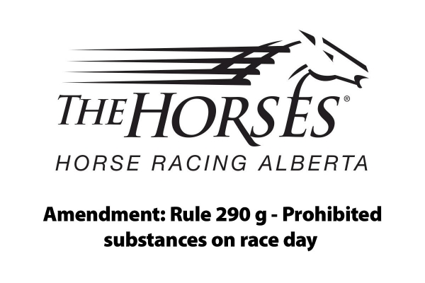 Notice: Prohibited substances on race day