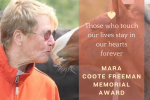 Mara Coote Freeman Memorial Award
