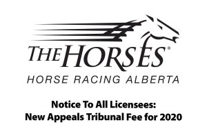 Notice to all Licensees: New Appeals Tribunal fee for 2020