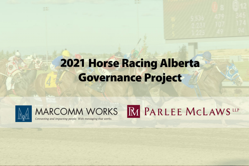 2021 Horse Racing Alberta Governance Project