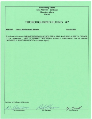 Ruling T002-2020