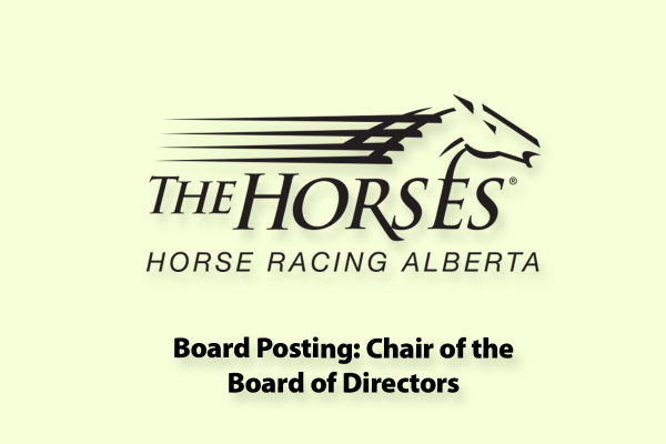 Board Posting - Chair of the Board of Directors