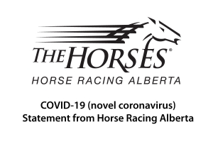 COVID-19 (novel coronavirus) - Statement from Horse Racing Alberta